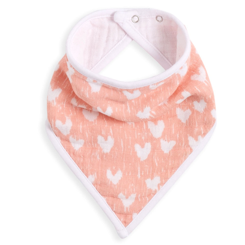 aden + anais | Classic Cotton Muslin Bandana Bib in Flock Together