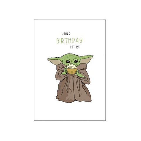 Candle Bark Creations | Baby Yoda Birthday Gift Card