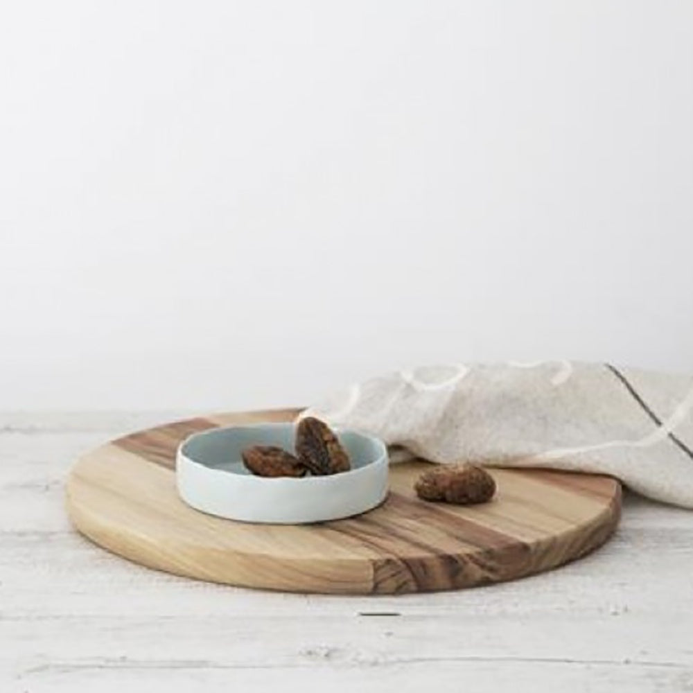 Ivory House | Flax Ceramic Small Tapas Bowl in Duck Egg Blue