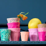 RICE | Two Tone Medium Melamine Cup in Chervil Print