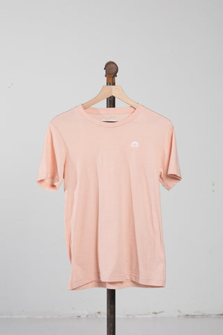 Sueded T-Shirt - Peach