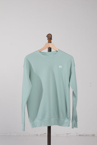 Crewneck Sweatshirt - Dusty Blue