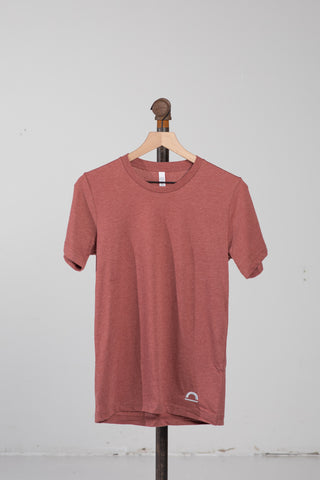 Sueded T-Shirt - Clay