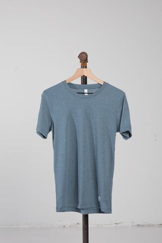 Sueded T-Shirt - Dusted Slate