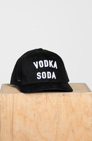 """Vodka Soda"" Hat - Fitted"