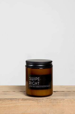 'Swipe Right' Candle