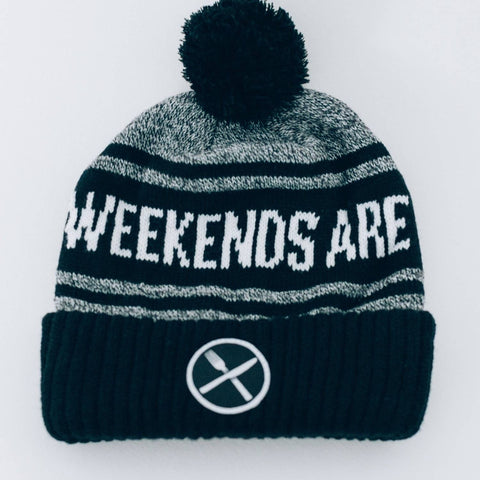 Weekends Are For Waffles Beanie Hat