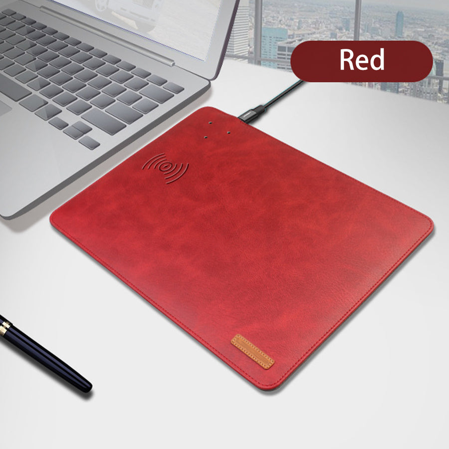 iCHARGE MOUSE PAD WITH BUILT IN WIRELESS iPHONE CHARGER