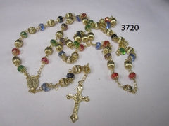 Multi Color Crystal Rosary
