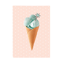Harper Bee Book Cover A4 - Tropical Holiday Ice Cream