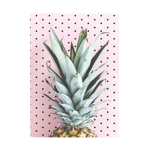 Harper Bee Book Cover A4 - Tropical Holiday Pineapple