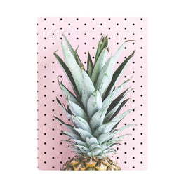 Book Cover A4 - Tropical Holiday Pineapple