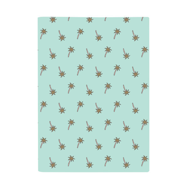 Harper Bee Book Cover A4 - Tropical Holiday Palm Trees