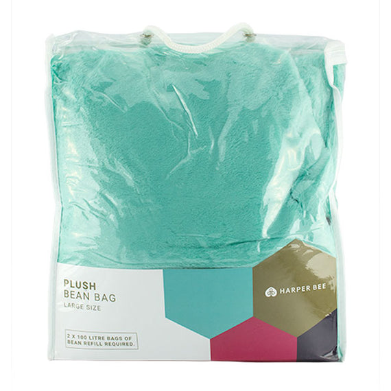 Harper Bee Bean Bag - Aqua