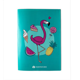 Book Cover A4 - Flamingo