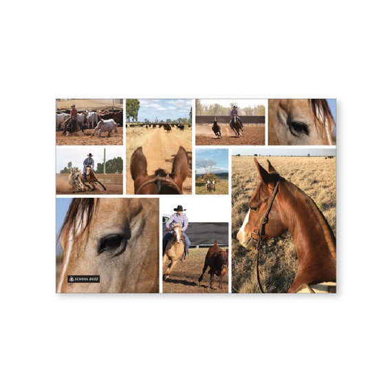 Scrap Book Cover - Country Horse