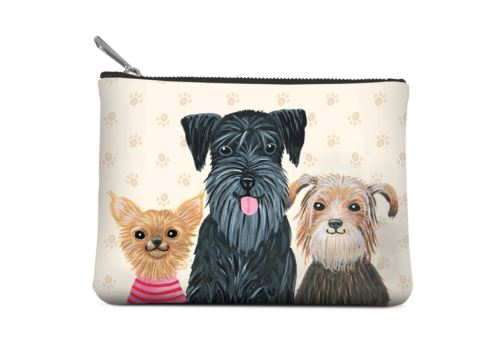 Bobangled - Small Zip Pouch - Doggone