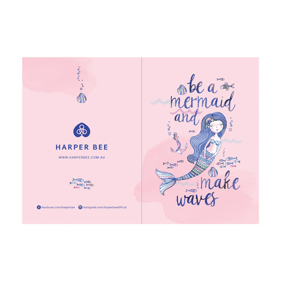 Card - Hbee Mermaid