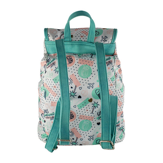 Harper Bee Backpack - Fashion Tropical Holiday