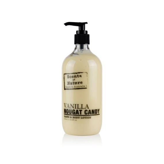 Body Lotion - Vanilla Nougat Candy