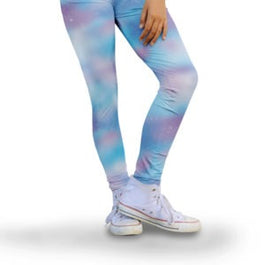 Harper Bee Leggings - Pastel Galaxy Sky