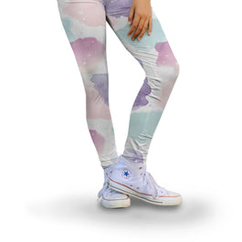 Harper Bee Leggings - Boho Watercolour