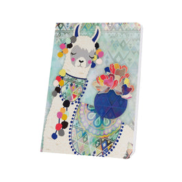 Aird - Notebook - Light Blue Llama