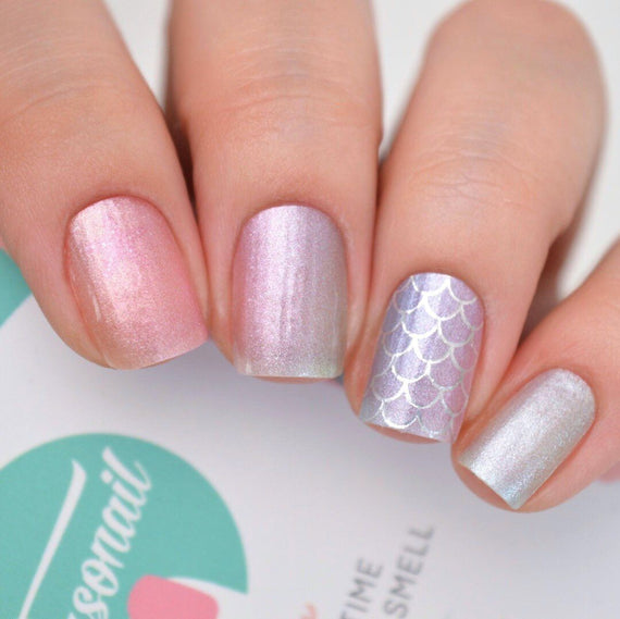Nail Wraps - Mermaid Scales
