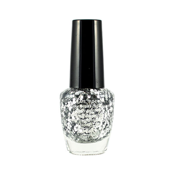 Harper Bee Nail Polish - Silver Sparkles (Bling)