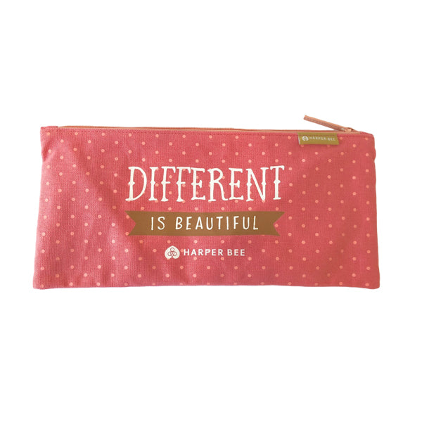 Harper Bee Pencil Case School - Quotes