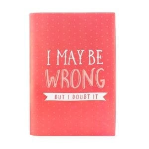 Book Cover A4 - Doubt It
