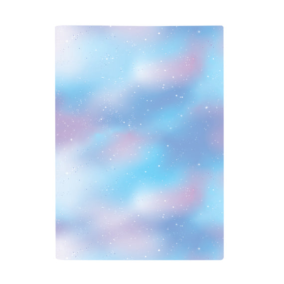Harper Bee Scrap Book Cover - Pastel Galaxy Sky