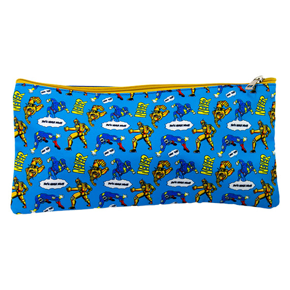 2 Zip Pencil Cases - Comic