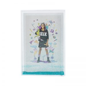 Harper Bee Sparkle Photo Frame Large - Blue