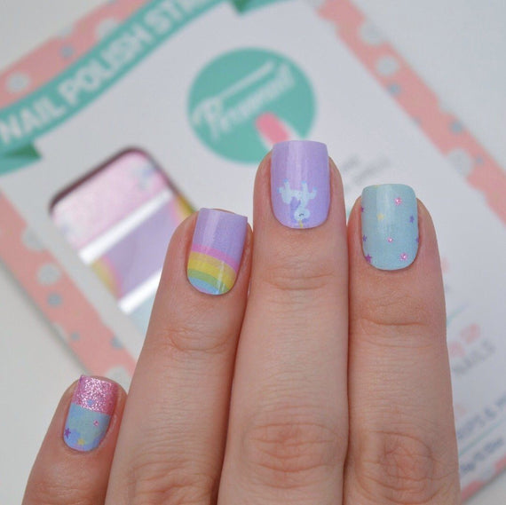 Nail Wraps - Unicorns