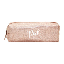 Harper Bee Pencil Case Metallic - Yeah/Nah Rose Gold