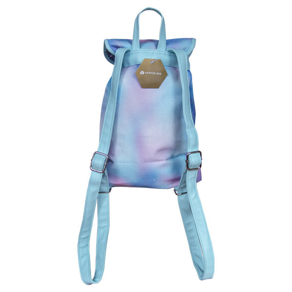 Harper Bee Backpack - Fashion Pastel Galaxy Sky