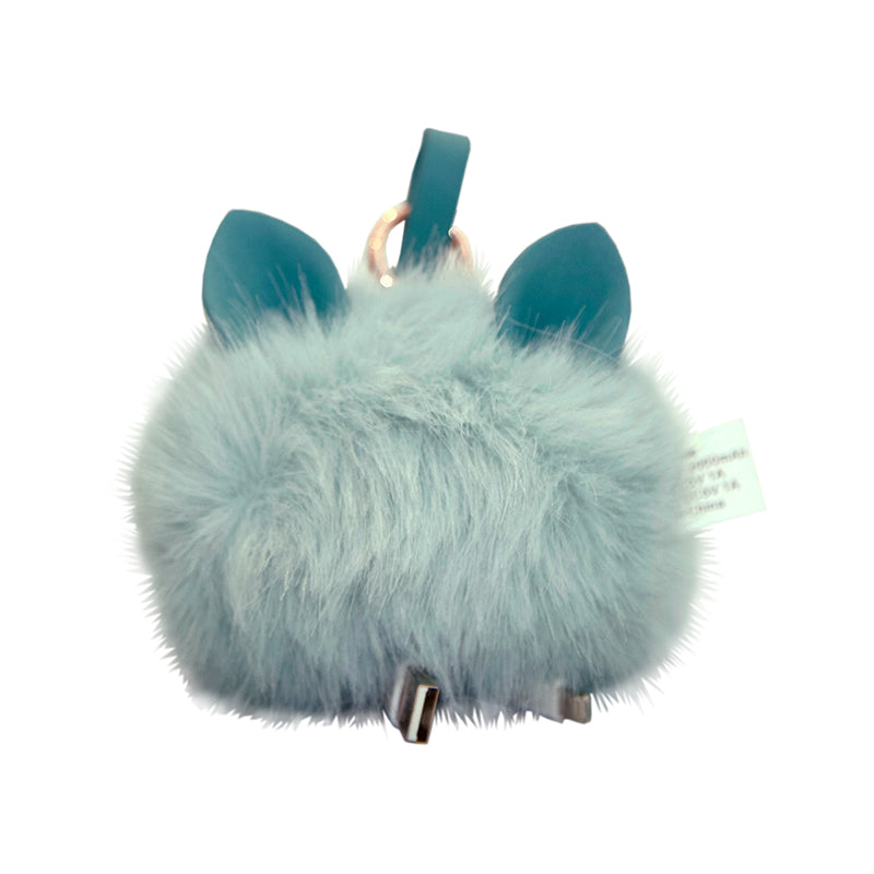 Harper Bee Powerbank Fluffy - Aqua
