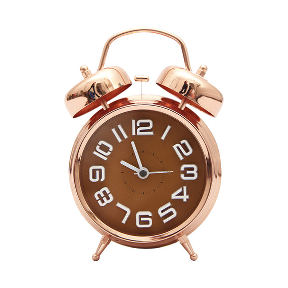 Harper Bee Clock - Rose Gold