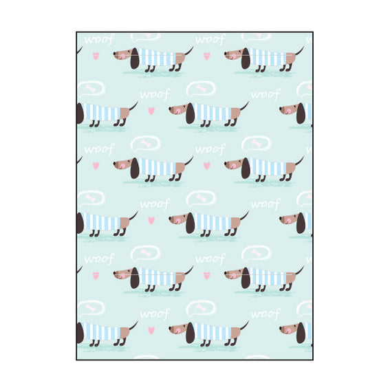 Book Cover A4 - Sausage Dog