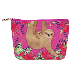 Aird - Cosmetic Case - Pink Sloth