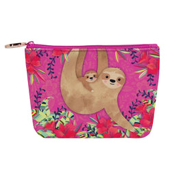 Harper Bee Pencil Pouch - Rose Gold See-Through Middle