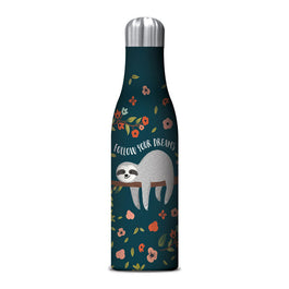 Stainless SteelWater Bottle - Medium Sloth
