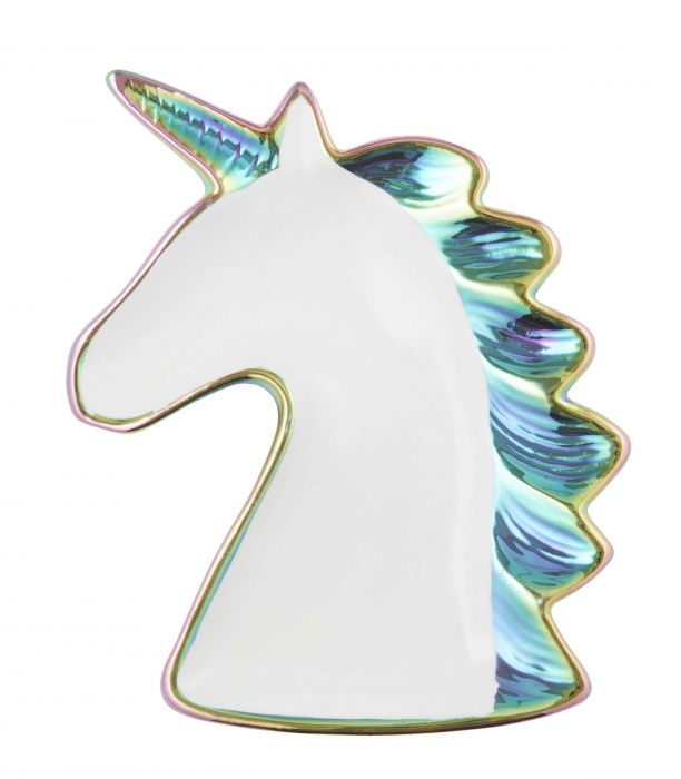 Trinket Plate - Rainbow Unicorn
