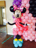 Minnie or Mickey Mouse Balloons Wall