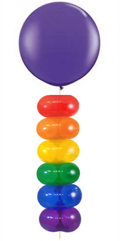 Lifesaver balloons bouquet