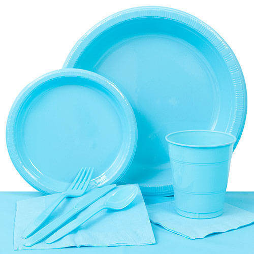 Tableware:  Bermuda Blue Party Pack