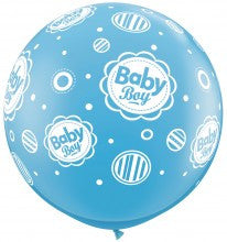 "Balloon:  Baby Boy 36"" Latex Balloon"