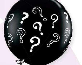 "Balloon:  Question Mark 36"" Latex Balloon"