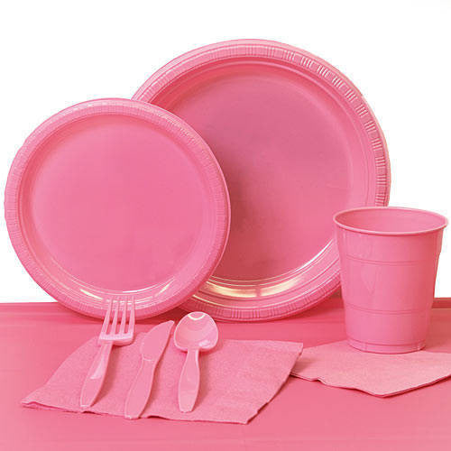 Tableware:  Candy Pink Party Pack